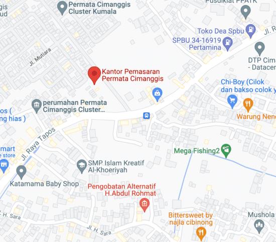 maps-permata-cimanggis